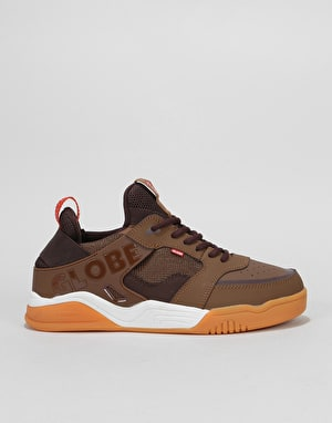 Globe Tilt Evo Skate Shoes - Chestnut/Gum