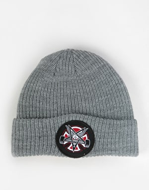 Independent x Thrasher Pentagram Cross Beanie - Heather Grey