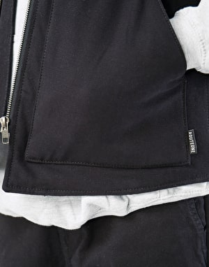 Route One Classic Quilted Vest - Black