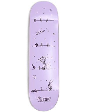 Theories How They Got Here Skateboard Deck - 8.38