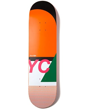 Chocolate Yonnie Neu Phase Skateboard Deck - 8.125
