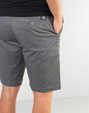 DC Worker Heather Straight Shorts - Grey Heather