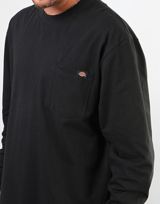 Dickies L/S Heavy Weight T-Shirt - Black