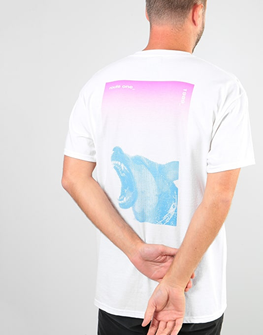 Route One Hound T-Shirt - White