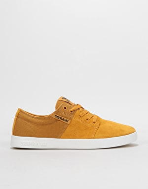 Supra Stacks II Skate Shoes  - Amber/Gold/White