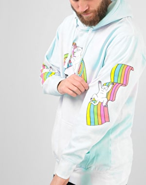 RIPNDIP My Little Nerm Pullover Hoodie - Cotton Candy Tie Dye