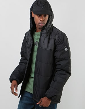 Element Alder Heavy Puff Jacket - Flint Black