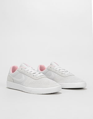 Nike SB Team Classic Skate Shoes - Vast Grey/Vast Grey-White-Bubblegum