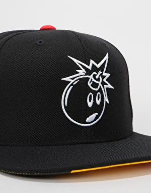 The Hundreds Vent Snapback Cap - Black