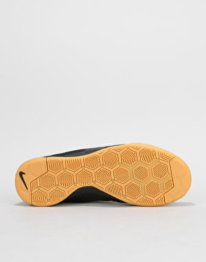 Nike SB Gato Skate Shoes - Black/Black-Metallic Gold-Gum Yellow