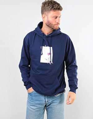 Route One Chrysanths Pullover Hoodie - Navy