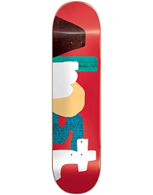 Almost Yuri Organics Impact Light Skateboard Deck - 8.375