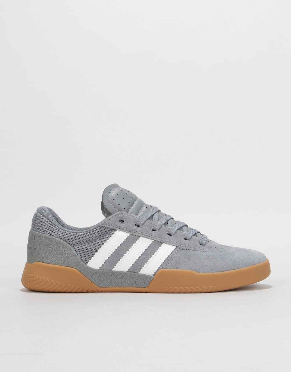 Adidas City Cup Skate Shoes - Grey White Gum  bc34c8f62