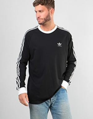 Adidas California 2.0 L/S T-Shirt - Black/White