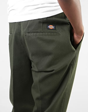 Dickies 872 Slim Fit Work Pant - Olive Green