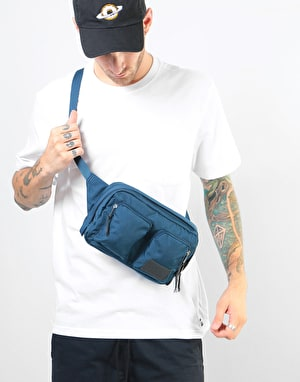 The North Face Kanga Cross Body Bag - Blue Wing Teal Heather/Asphalt