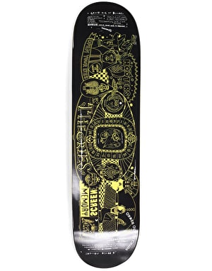 Theories Screen Memory Skateboard Deck - 8