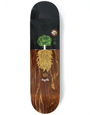 Magenta Night Tree Skateboard Deck - 8.25