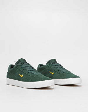 Nike SB Zoom Bruin Ultra Skate Shoes - Midnight Green/Yellow Ochre