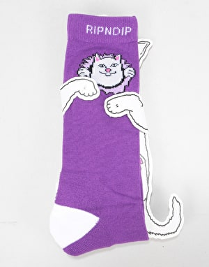RIPNDIP Nermamaniac Socks - Purple