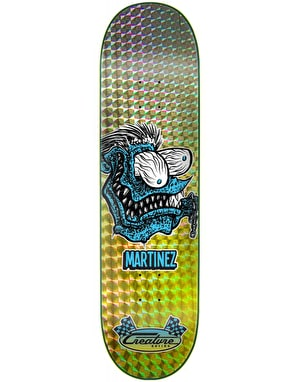 Creature Martinez Chain Fink 'Prismatic' Skateboard Deck - 8.375
