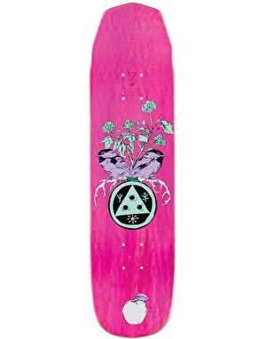Welcome Nora Fairy Tale Mini on Wicked Mini Skateboard Deck - 7.6