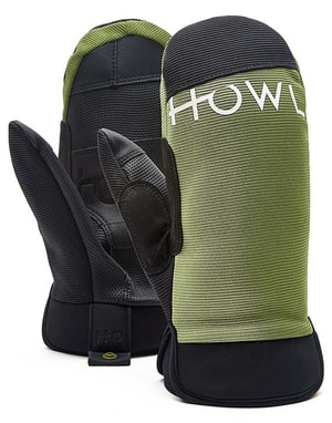 Howl Jeepster 2018 Snowboard Mitts - Green