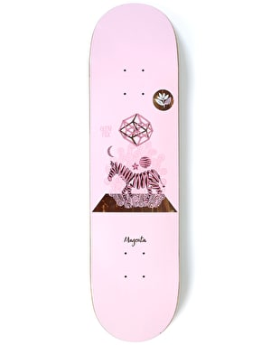 Magenta Fox Perceptions Skateboard Deck - 7.875