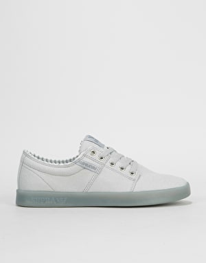 Supra Stacks II Skate Shoes - Off White/Grey Ice