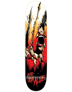 Zero Allie Slasher Skateboard Deck - 8.25