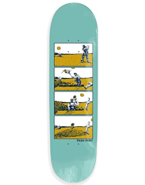 Pass Port Step By Step - Dig Skateboard Deck - 8.125