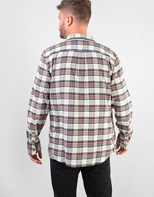 Vans Banfield III L/S Shirt - Natural Sequoia