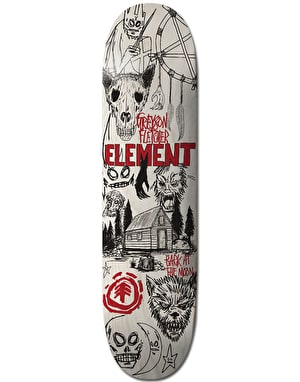 Element Greyson Bark At The Moon Skateboard Deck - 8.5