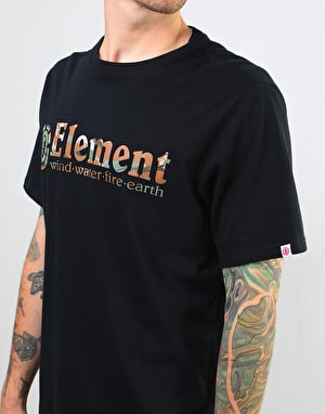 Element Horizontal Fill T-Shirt - Flint Black