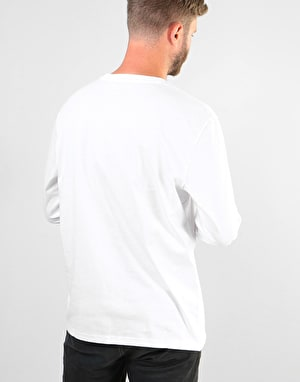 Element Basic Crew LS T-Shirt - Optic White
