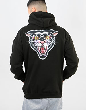 Scarred For Life Black Panther Pullover Hoodie - Black