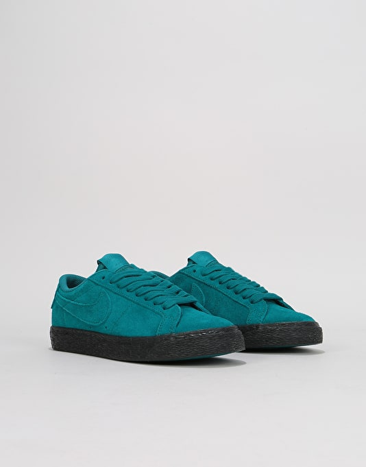 Nike SB Zoom Blazer Low Womens Trainers - Geode Teal/Geode Teal/Black