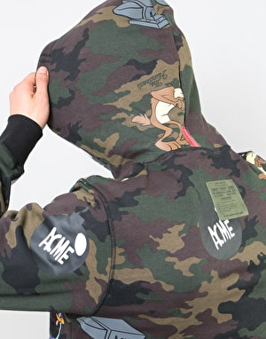 The Hundreds x Looney Tunes Symbol Pullover Hoodie - Camo