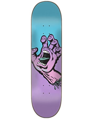 Santa Cruz Screaming Hand Team Deck - 8.125