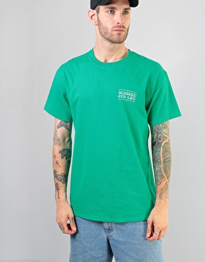 Scarred For Life Black Panther T-Shirt - Kelly Green