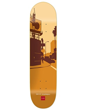 Chocolate Anderson City Series Skateboard Deck - 8.125