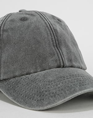 Route One Vintage Low Profile Dad Cap - Vintage Black