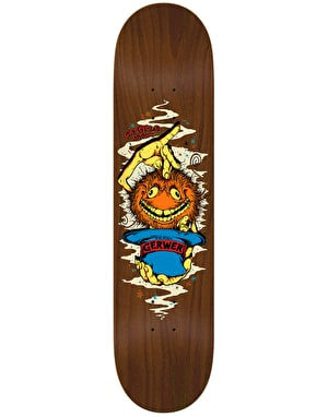 Grimple Stix (Anti Hero) Gerwer Skateboard Deck - 8.25