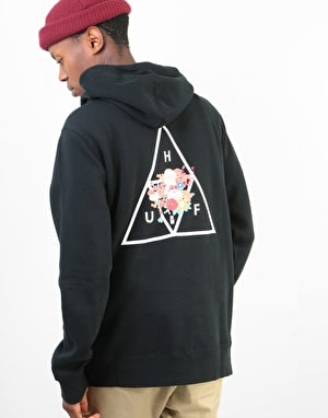 HUF Memorial Triple Triangle Pullover Hoodie - Black