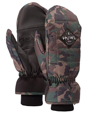 Howl Jed 2019 Snowboard Mitts - Camo