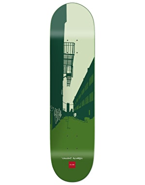 Chocolate Alvarez City Series Skateboard Deck - 8