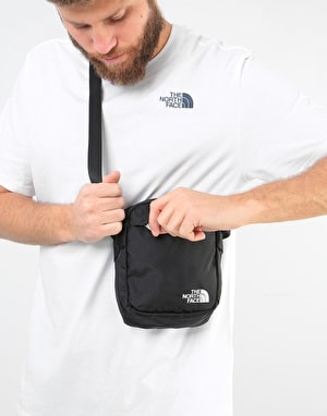 The North Face Convertible Cross Body Bag - TNF Black/High Rose Grey