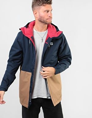 686 Foundation Insulated 2019 Snowboard Jacket - Navy Colourblock