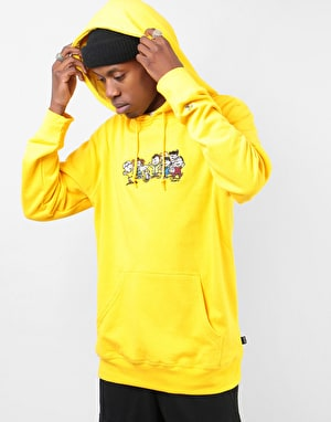 HUF x Peanuts End Credits Pullover Hoodie - Yellow