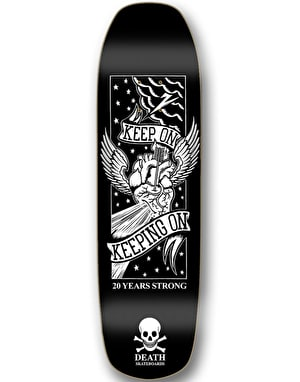Death Keep On '20 Year' Skateboard Deck - 9